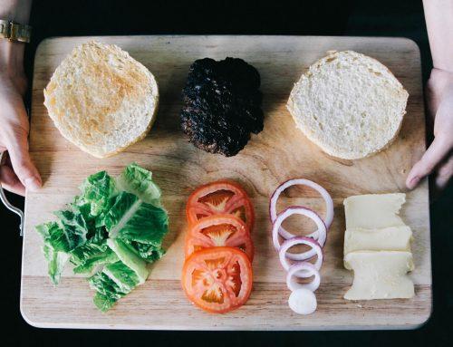 A Healthier Deconstructed Burger Option
